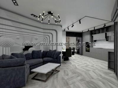 Проект 3-х комнатной квартиры в стиле Хай-тек