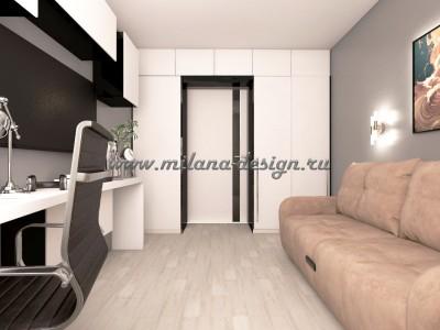 Проект квартиры 37 м2