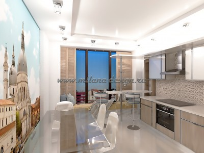 Дизайн проект квартиры г. Мытищи