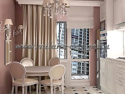 Дизайн проект квартиры Истра
