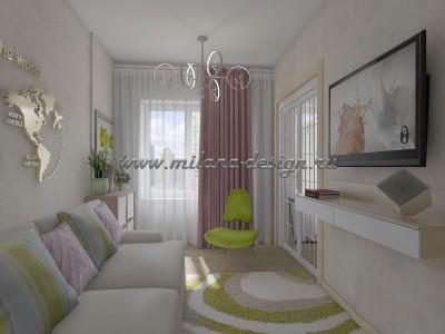 Дизайн проект квартиры в Истре