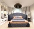 Квартира с мастер спальнями в стиле неоклассика